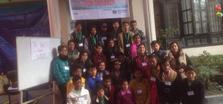 Conducted Story telling Workshop at Seto Nepal