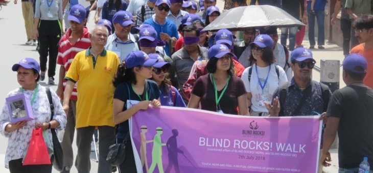 Blind Rocks Walk – Organized successfully on 7th July 2018