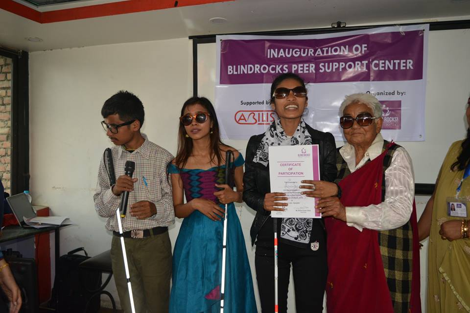 Establishment of Blind Rocks Peer Support Center (BRPSC)