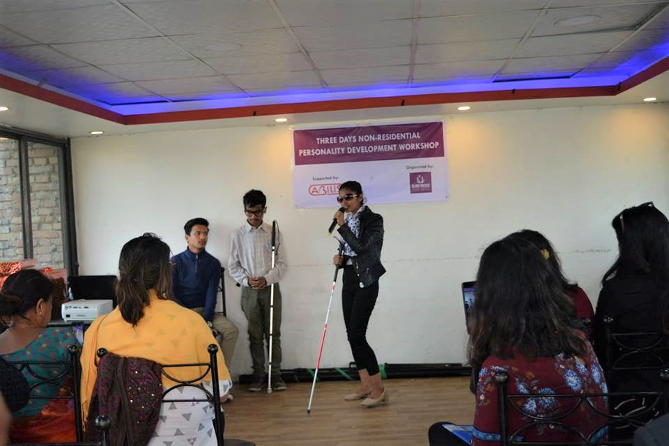 Successfully conducted 3-day long personality development workshop